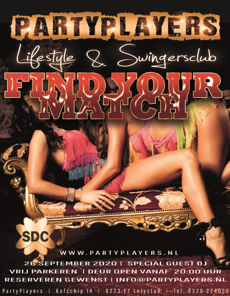 Find your match 26-09-2020 flyer