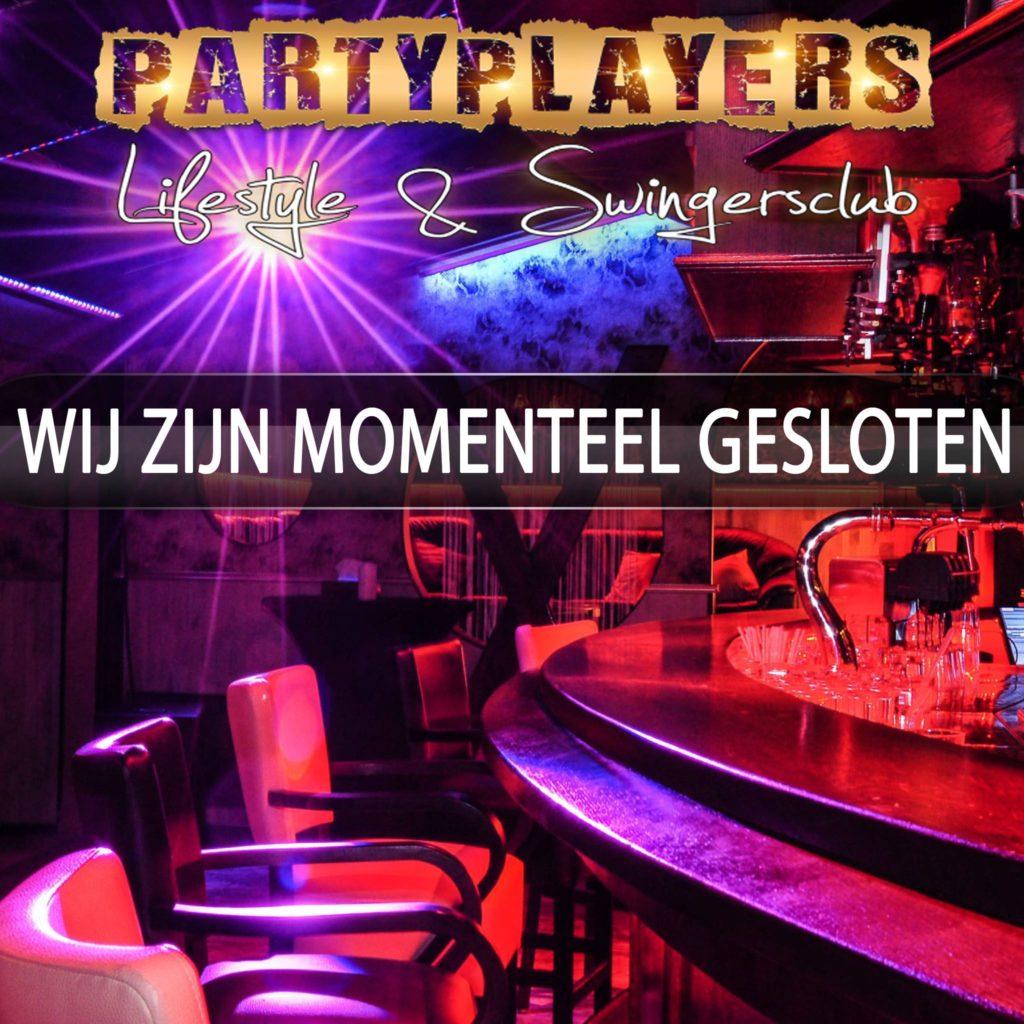 Reserveren verplicht aan: reserveringen@partyplayers.nl